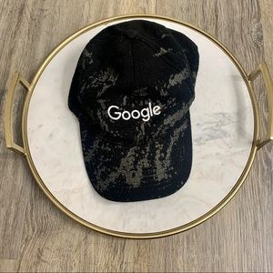 Google Tye Dye Black and Grey Baseball Cap